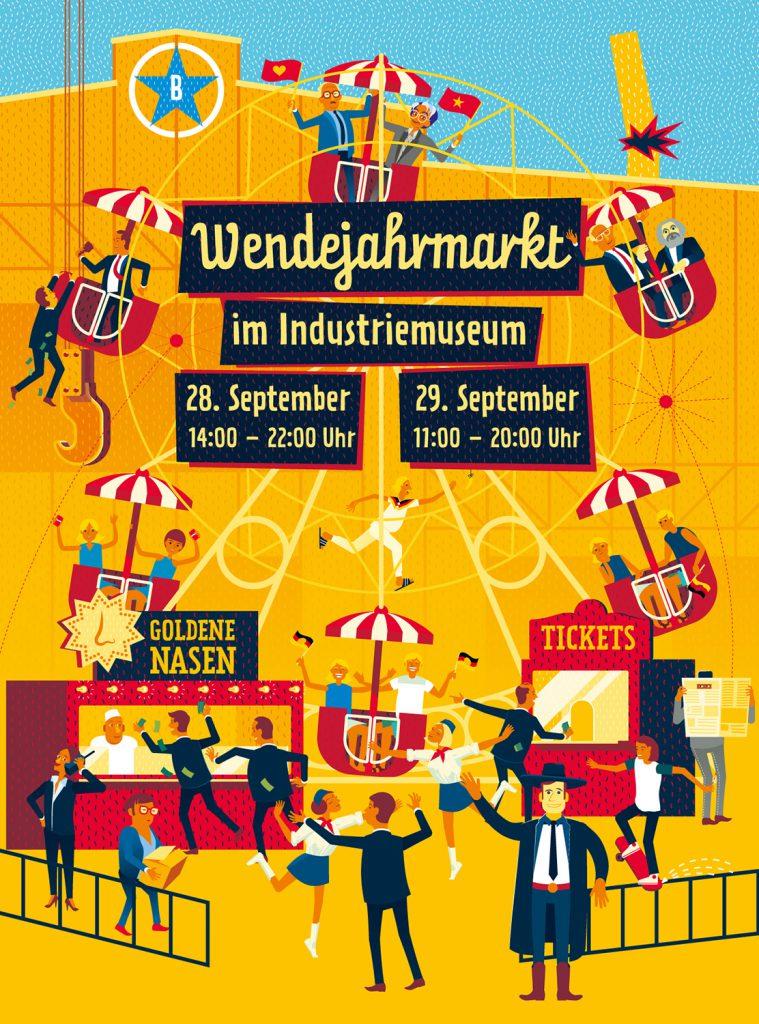 Wendejahrmarkt 28+29 September 2019 | Indusriemuseum Brandenburg