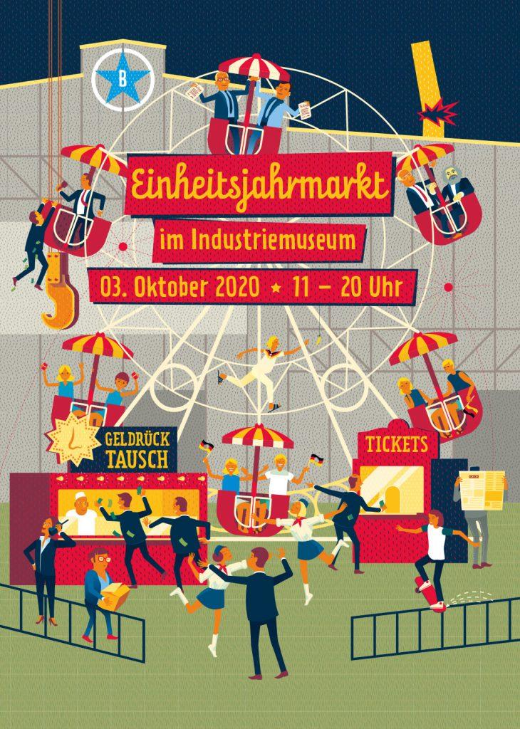 Einheitsjahrmarkt 2020 im Industriemuseum in Brandenburg